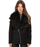 LAMARQUE - Kiri Biker Coat w/ Detachable Shearling Collar