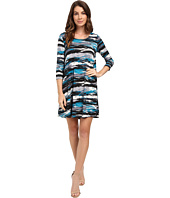 Karen Kane - 3/4 Sleeve Maggie Trapeze Dress