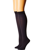 Cole Haan - 2-Pack Solid Knee Highs