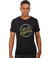 Life is Beautiful - Circle Logo - Crew Neck Tee