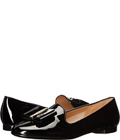 Salvatore Ferragamo - Patent Leather Smoking Slipper