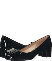 Salvatore Ferragamo - Patent Leather Low-Heel Pump