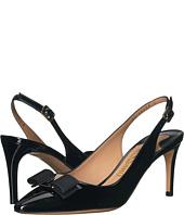 Salvatore Ferragamo - Patent Leather Mid-Heel Slingback