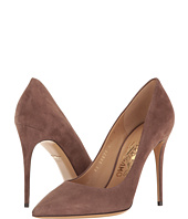 Salvatore Ferragamo - Suede High-Heel Pump