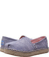 TOMS Kids - Platform Alpargata Espadrille (Little Kid/Big Kid)