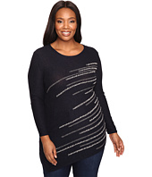 NIC+ZOE - Plus Size Shooting Stars Top