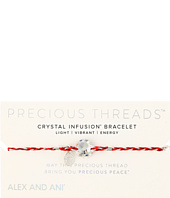 Alex and Ani - Precious Threads Crystal Swarovski Crystal Sangria Braid