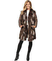 NIC+ZOE - Faux Fur Puffer Jacket
