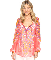 Hale Bob - The Sweetspot Washed Silk Georgette Top