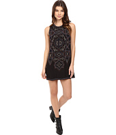 Free People - Mandala Shift Mini Dress