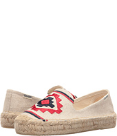 Soludos - Embroidered Platform Smoking Slipper