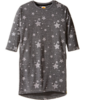 C&C California Kids - French Terry Cocoon Dress with Star Print (Little Kids/Big Kids)