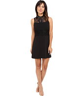 Jessica Simpson - Solid Scuba Crepe with Lace
