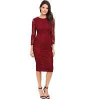 Jessica Simpson - Floral Lace Midi Dress