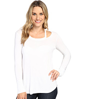 Allen Allen - Long Sleeve Cut Shoulder