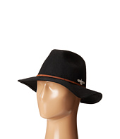 San Diego Hat Company - SDH3005 Pinched Crown Fedora Hat with Stitched Pattern