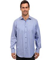 BUGATCHI - Alfonzo Long Sleeve Woven Shirt