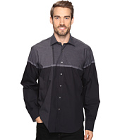 BUGATCHI - Maceo Long Sleeve Woven Shirt