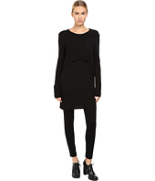 Limi Feu - Layered Pop Over Long Sleeve Top