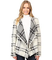 Dylan by True Grit - Cortina Plaid Italian Yarn Jacket