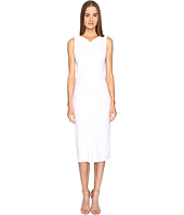 Zac Posen - Stretch Cady Sleeveless Tea Length Dress