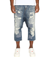 Mostly Heard Rarely Seen - Distressed Enzo Drop-Crotch Jeans