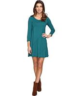 Mod-o-doc - Cotton Modal Spandex Jersey Seamed Swing Dress