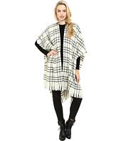 Echo Design - Long Woven Check Ruana