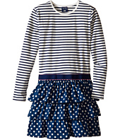 Toobydoo - Kalia Ruffle Dress (Toddler/Little Kids/Big Kids)