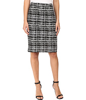 Calvin Klein - Jacquard Pencil Skirt