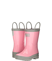 Hatley Kids - Gray & Pink Rain Boots (Toddler/Little Kid)