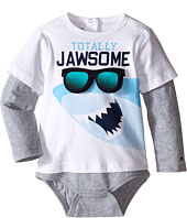 Tommy Hilfiger Kids - Shark Doubler Long Sleeve One-Piece (Infant)