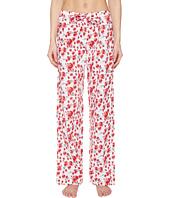 Emporio Armani - Poppy Dream Cotton Loungewear Lounge Pants