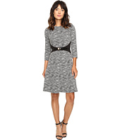 Calvin Klein - 3/4 Sleeve Fit and Flare Dress CD6K1410