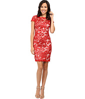 Calvin Klein - Short Sleeve Lace Sequin Sheath Dress CD6B1X6R