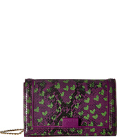 Boutique Moschino - Python and Hearts Print Crossbody