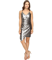 Adelyn Rae - Sequin Sleeveless Wrap Dress