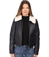 See by Chloe - Leather Jacket with Shearling Collar