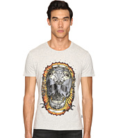 Just Cavalli - Wreath Skull T-Shirt