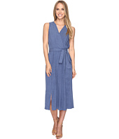 B Collection by Bobeau - Kate Chambray Wrap Dress