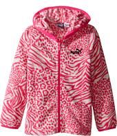 Puma Kids - Printed Polar Fleece Zip Front Hoodie (Toddler)