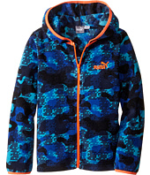 Puma Kids - Printed Polar Fleece Jacket (Little Kids)
