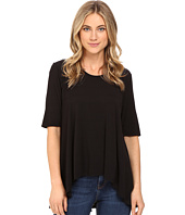 HEATHER - 3/4 Sleeve Panel Swing Top