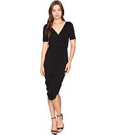Culture Phit - Laine Cross Front Dress with Waist Tie