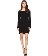Culture Phit - Dallon Cold Shoulder Dress with Bell Sleeves