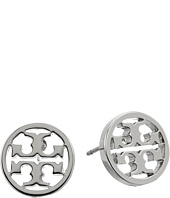 Tory Burch - Logo Circle-Stud Earrings