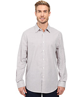 Perry Ellis - Regular Fit Stripe Texture Pattern Shirt
