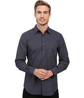 Perry Ellis - Regular Fit Exclusive Mini Square Print Shirt