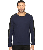 Kenneth Cole Sportswear - Texture Crew with Nylon