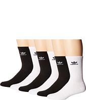 adidas - Originals Trefoil Crew Sock 6-Pack